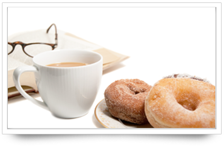 Coffee and donuts illustrate the best rental yields in Melbourne