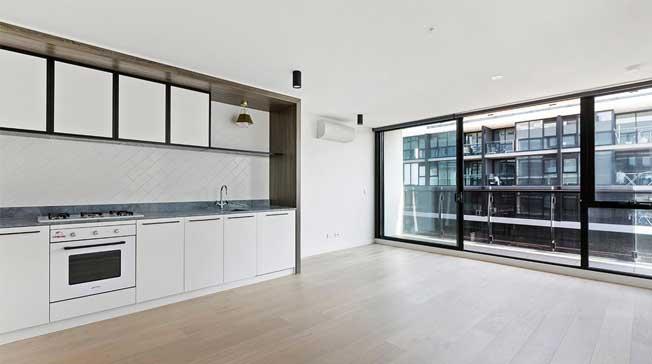 713/1 Shamrock Street Abbotsford apartment kitchen