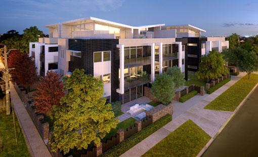 Gardenhurst exterior building