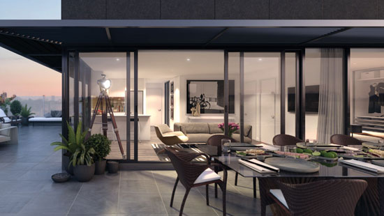 Geox apartment exterior