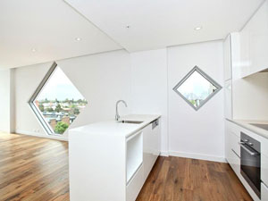 Nott apartment kitchen