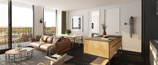 Trilby living area