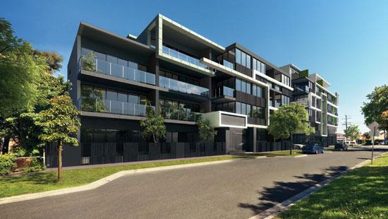 Gill Apartments exterior