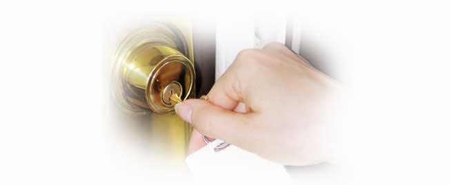 unlocking house
