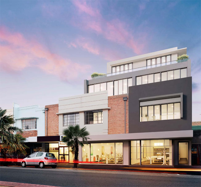 Limited Oakleigh apartment road view
