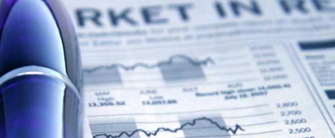 market line graph