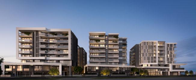 OAK Apartments building
