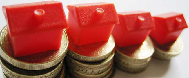 house on coins